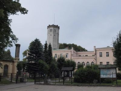 pałac królewski wmysłakowicach