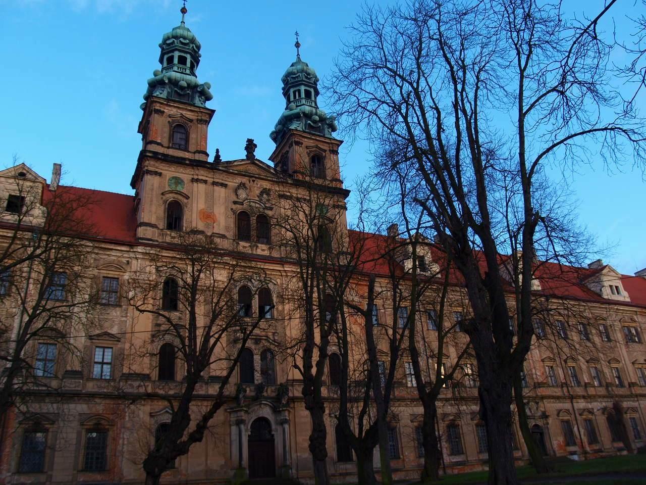 pocysterski klasztor w lubiążu